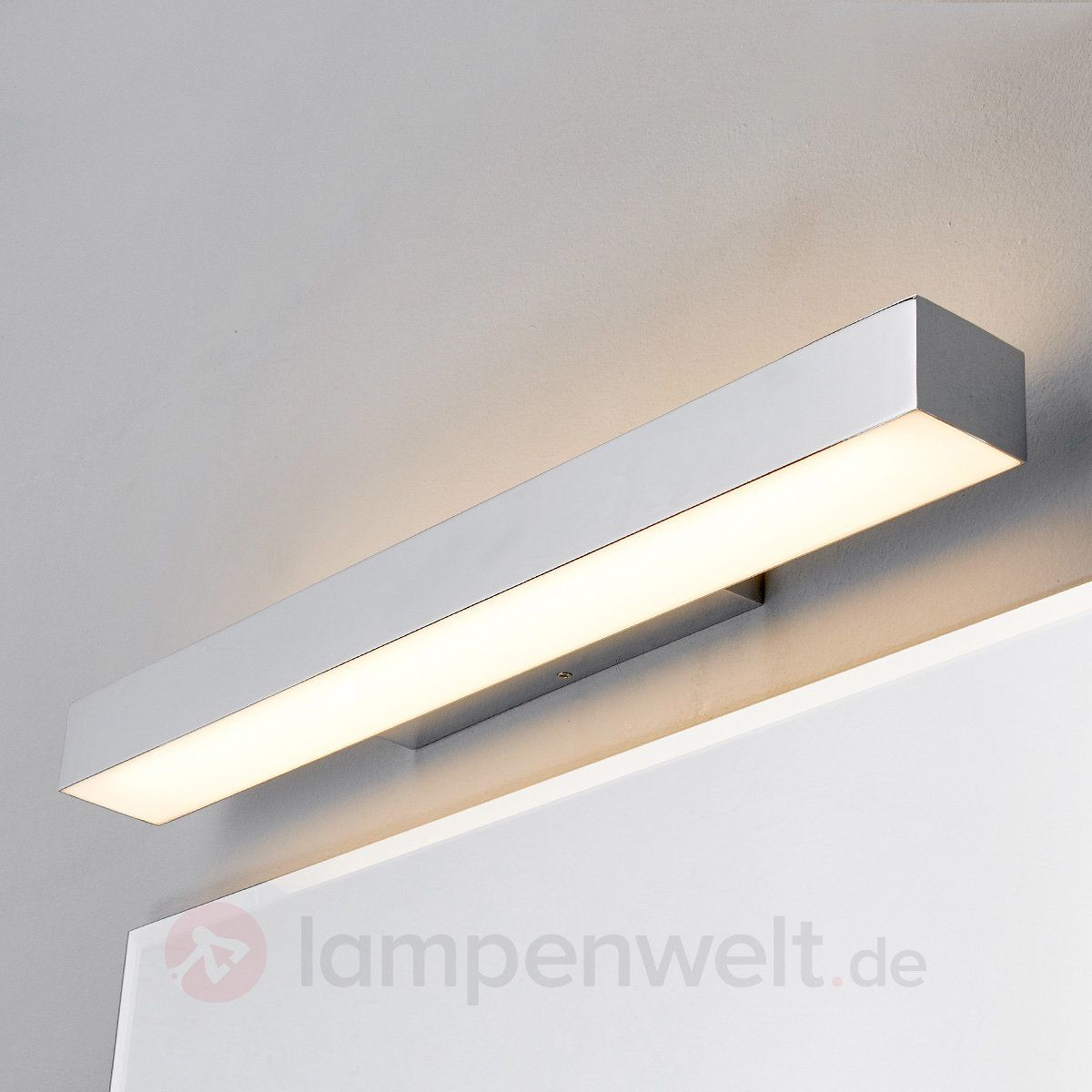 Badezimmer Wandleuchten Kiana Bad Wandleuchte Mit Led In Chrom Let There Be Light