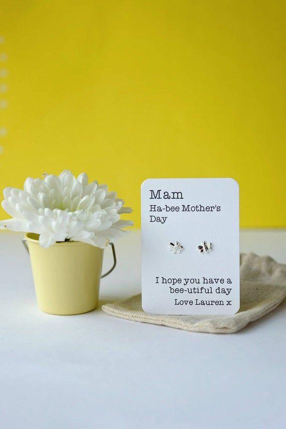 Ha-Bee Mother's Day bee earrings for Mum/Mam/Grandma etc #mumsetc