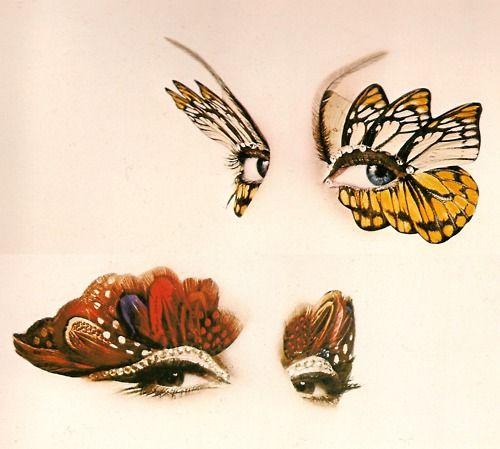 Butterfly Eyes by Bert Stern, Vogue December 1964.