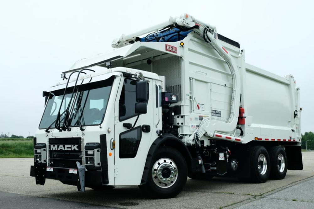 Mack Lr Front Loader Garbage Truck Mack Trucks
