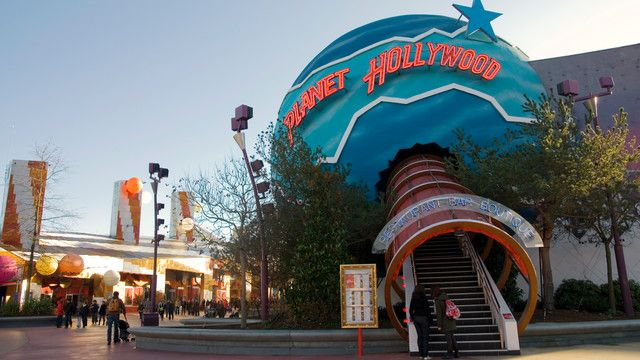 Planet Hollywood Disneyland Paris