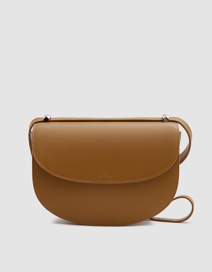 ef37e63d93aeb Genève Shoulder Bag in Camel | Clothing | Bags, Leather label ...