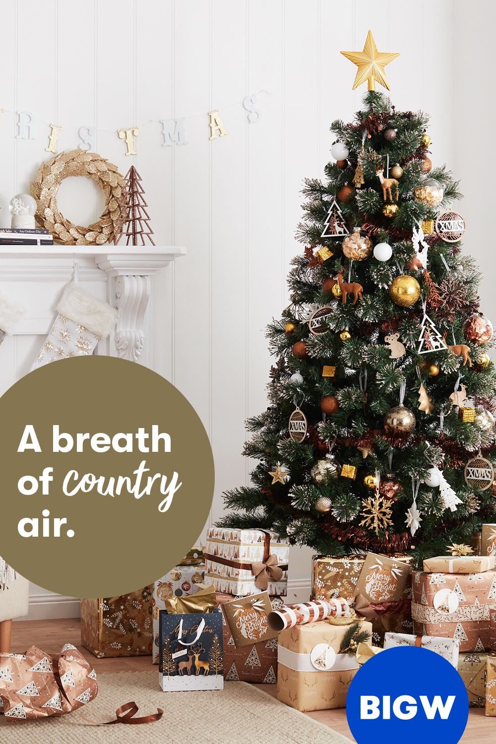 Get A Breath Of Fresh Festive Air With Our Country Collection In 2020 Silver Christmas Decorations Red And Gold Christmas Tree Gold Christmas Decorations