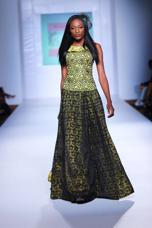 MTN Lagos Fashion & Design week: Spring/Summer 2013 House of Marie