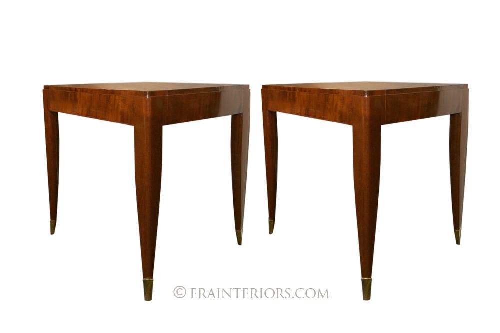 French Art Deco End Tables | ERA Interiors