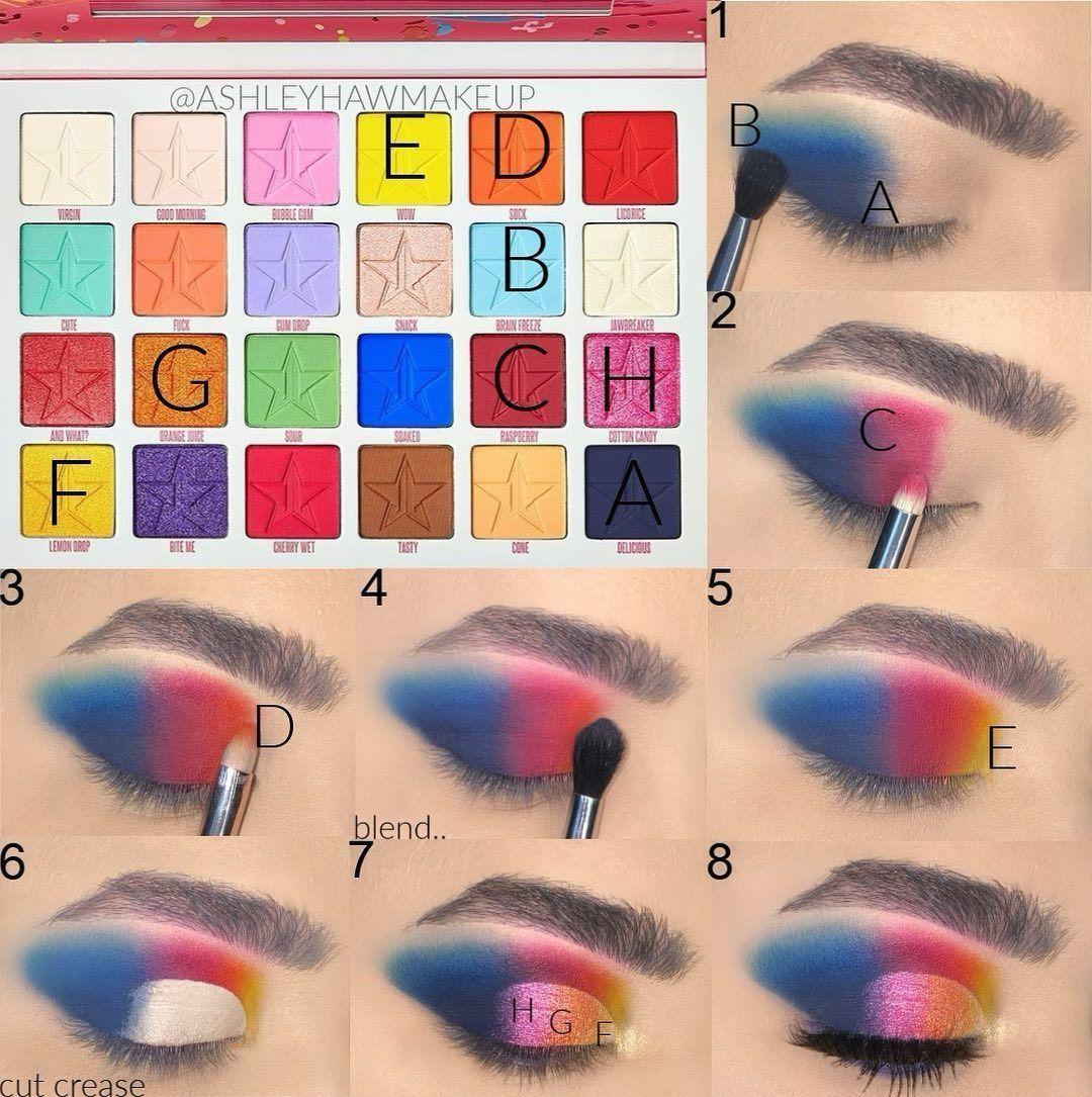 eyeshadow makeup tape makeup geek eyeshadows palette