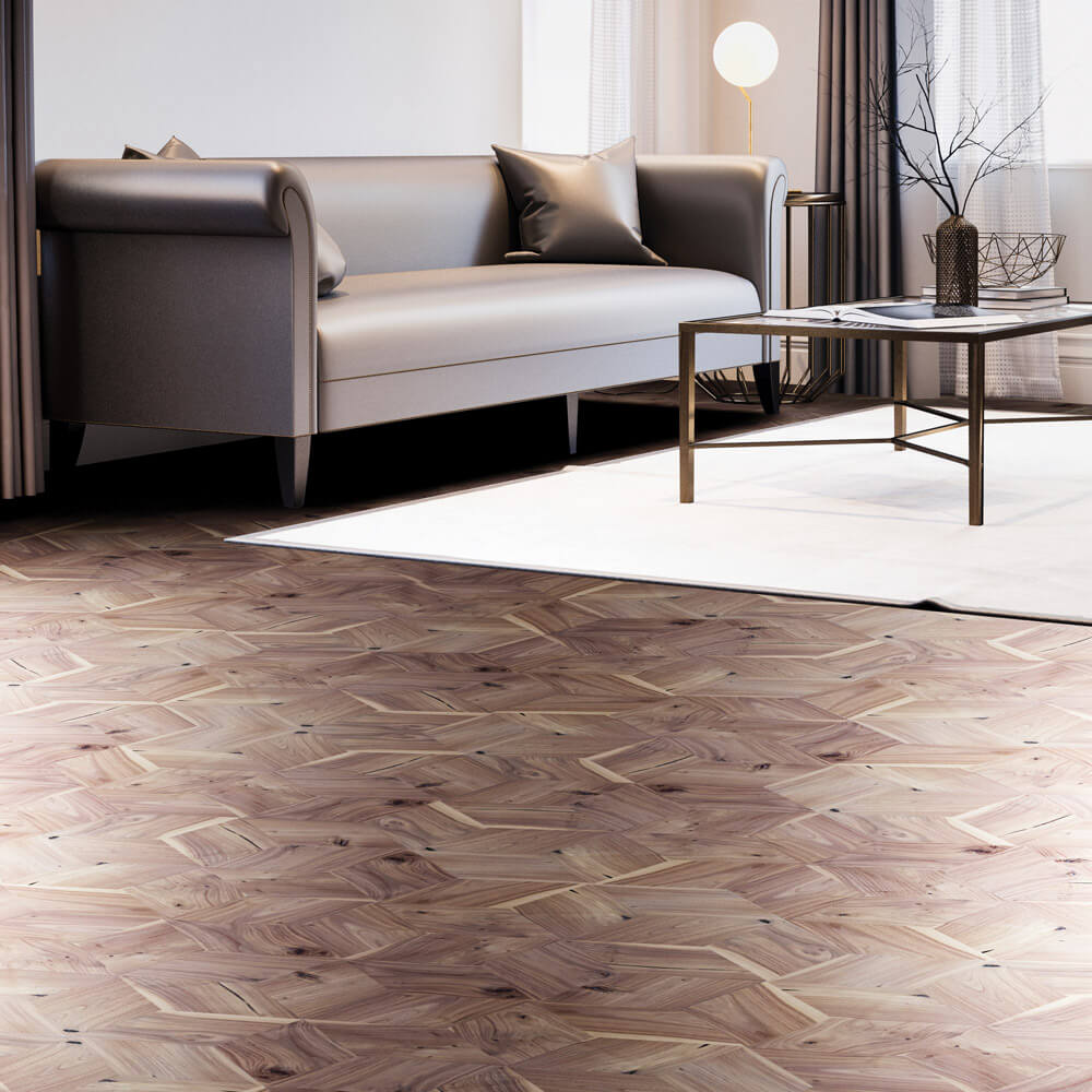 Rhombus Wood Parquet Flooring Parquet Tiles by Wood