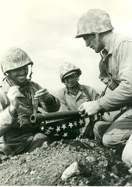 Iwo Jima Flag Raising: