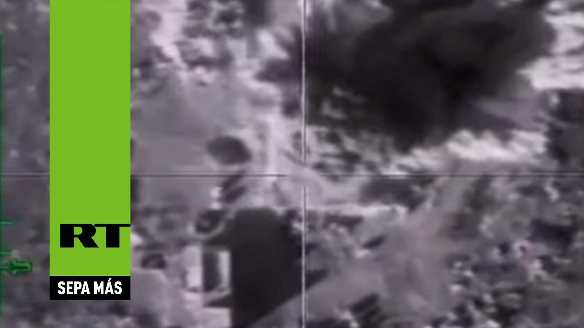 Rusia destruye el lugar donde el Estado Islámico ejecuta en masa
