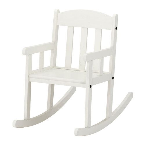 online store 30c41 4710e SUNDVIK Childrens rocking-chair, white | Playroom ...