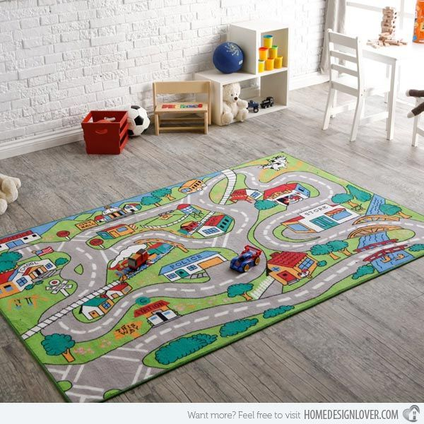 15 Funky And Colorful Area Rugs Bornevaerelse Runes