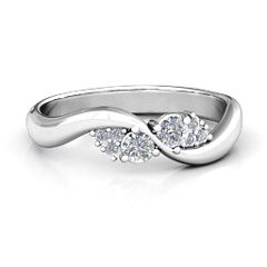 Everyday Dream Ring With Shoulder Accents #jewlr