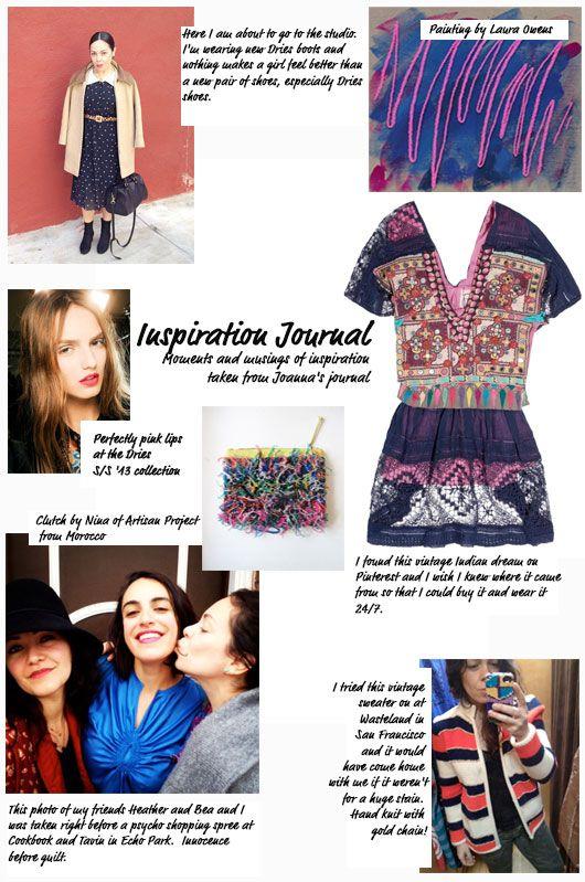 New Inspiration Journal on the blog, keepfeeling.wordpress.com