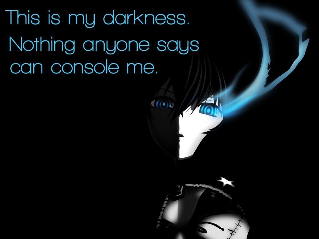 Anime Quote 238 By Anime Quotes On Deviantart Anime Quotes Anime Love Quotes Black Rock Shooter