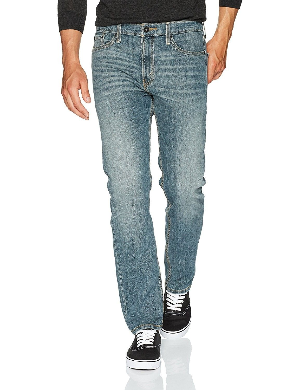 e191ceb5 Men's Clothing, Jeans, Signature by Levi Strauss & Co. Gold Label Men's  Slim Straight Fit Jeans - Elk - CL1844C6422 #fashion #Jeans #men #outfits # pants