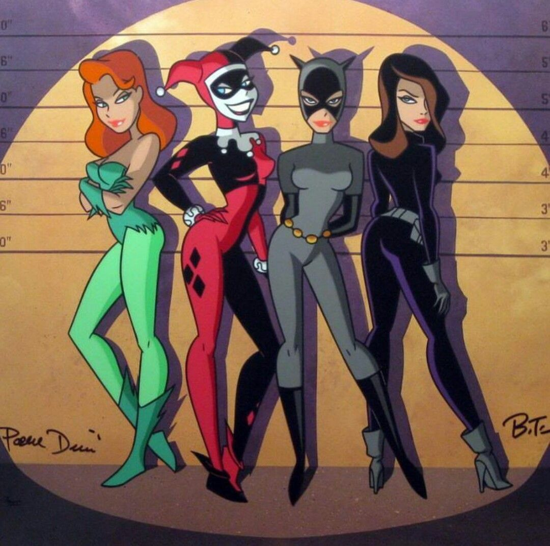 Gotham Girl Villians By Bruce Timm (With images) Comic