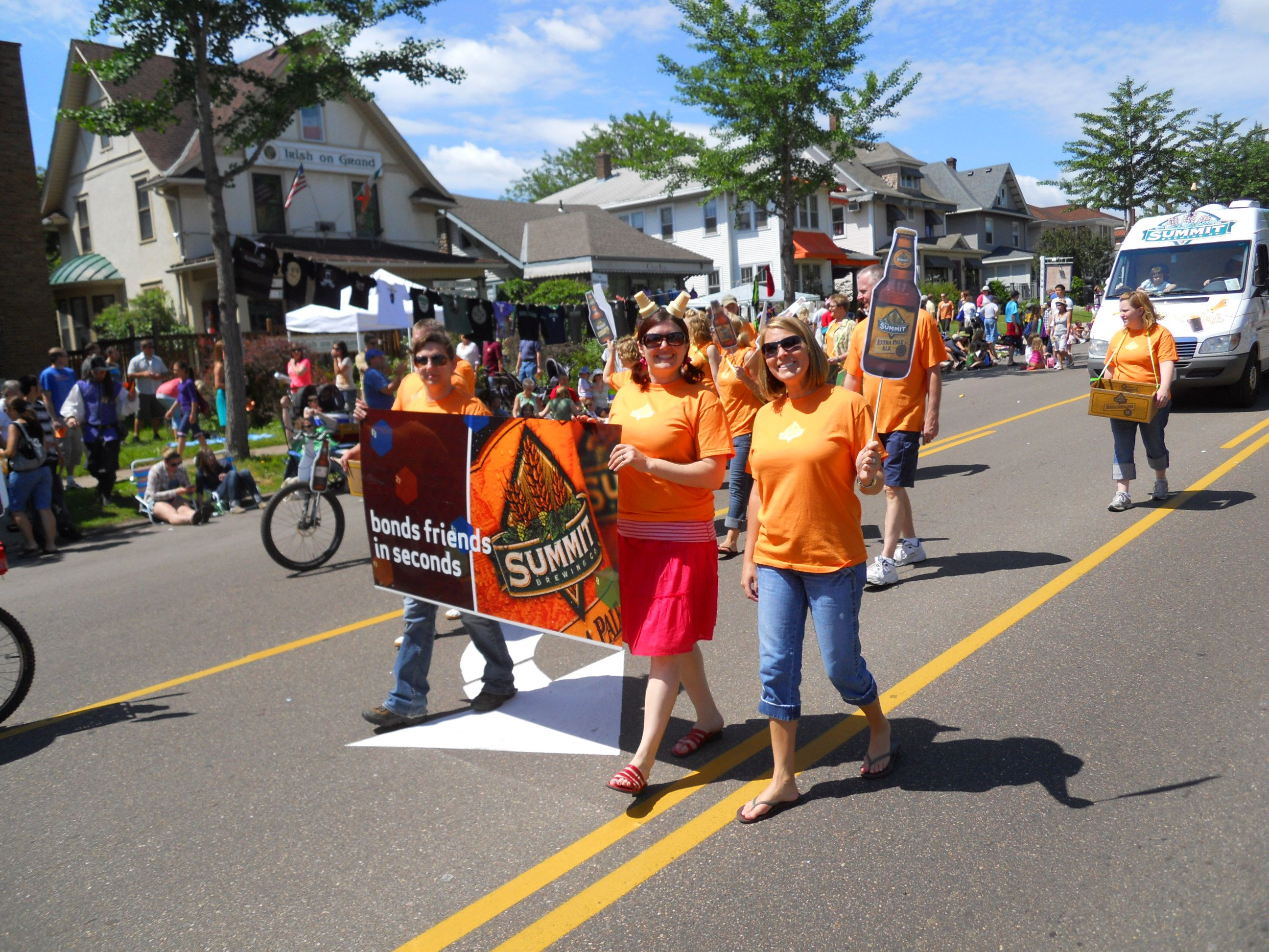 Grand old day parade 2010 with images olds parades