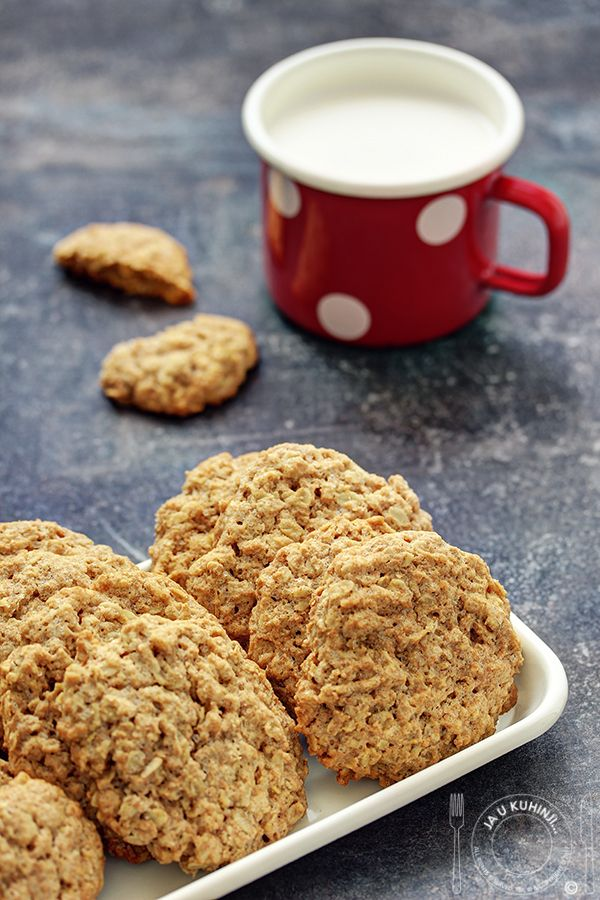 Oatmeal And Ginger Cookies From Lorraine Pascale S Ja U Kuhinji