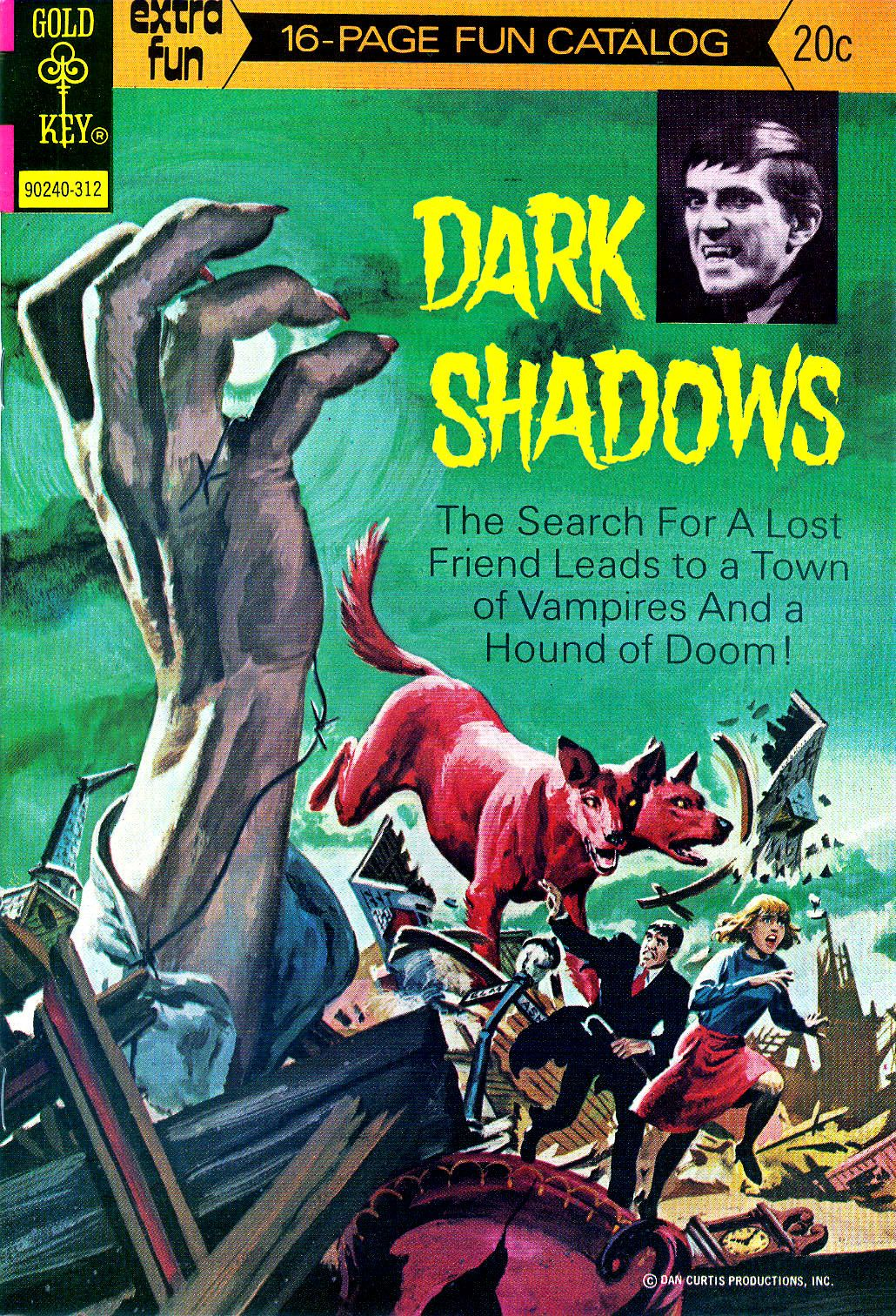 Dark Shadows comic
