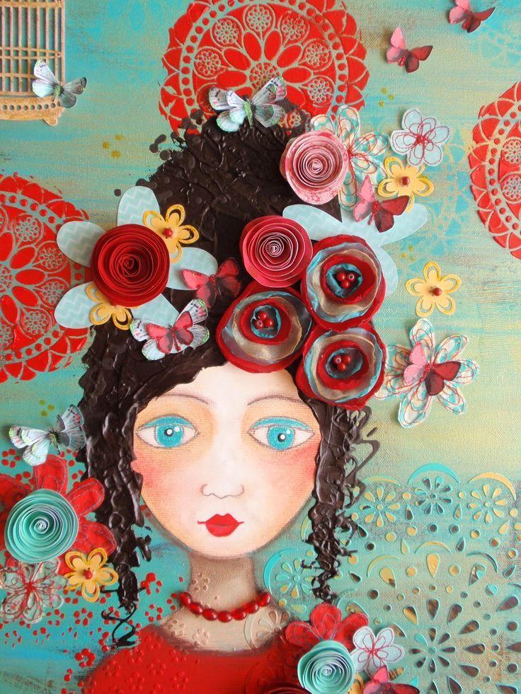 Julie Ryder | ศิลปะสื่อผสม