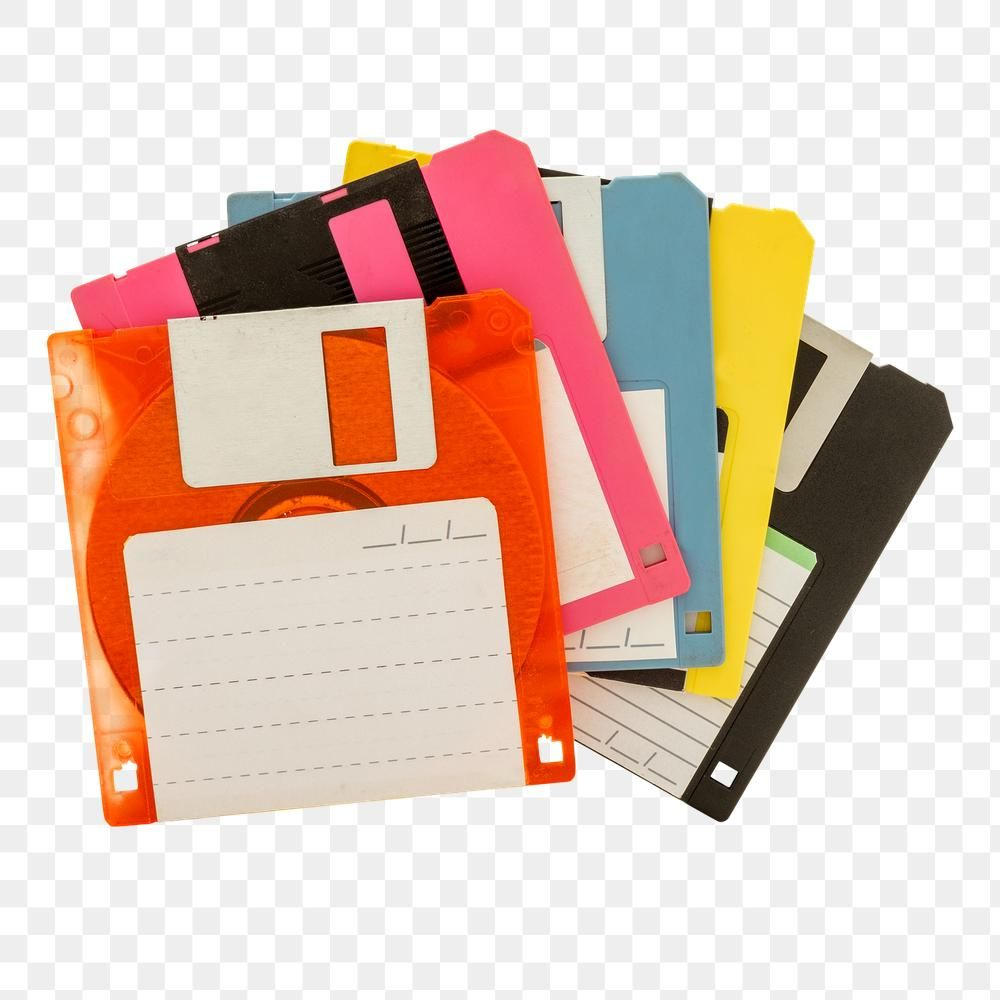 Colorful Floppy Disk Design Resources Free Image By Rawpixel Com Teddy Rawpixel Floppy Disk Design Resources Design
