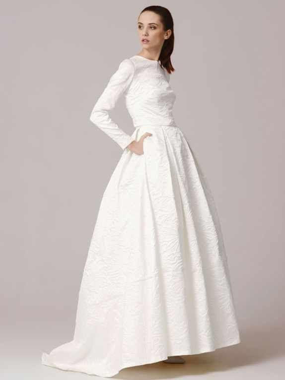 carla topanna kara | leah wants pockets/wedding dresses with