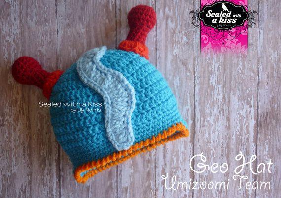 Free Crochet Pattern Umizoomi : CROCHET Gorros ? on Pinterest Crochet Hats, Hat Patterns ...