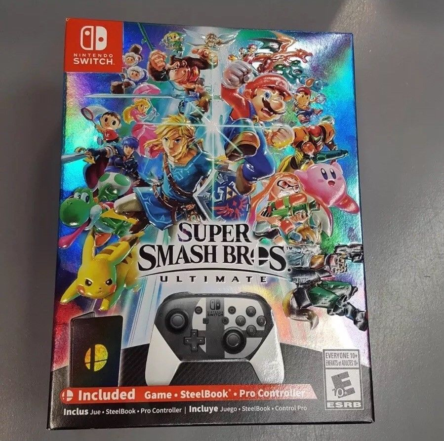 Super Smash Brothers Ultimate Bundle Great Gift Nintendo Switch