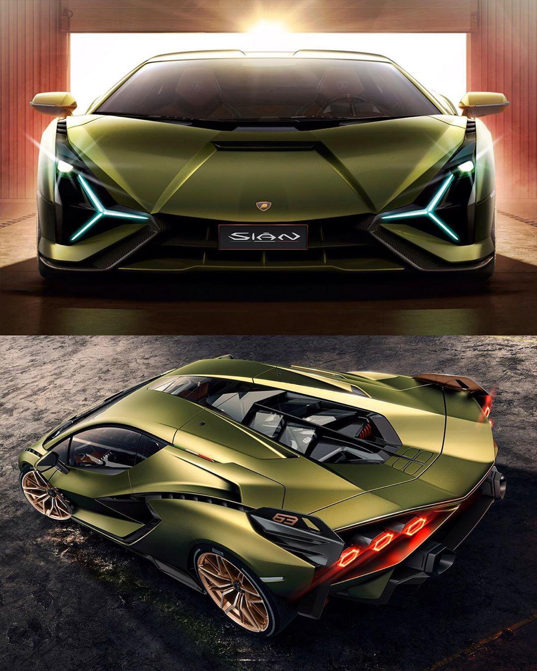 2020 Lamborghini: 2020 Lamborghini Sian Official Photos V12 + E-motor, 785