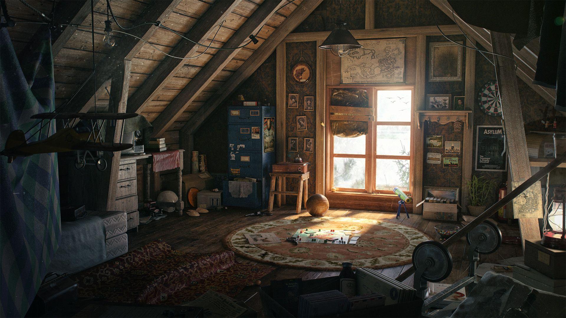 Artstation Light In The Attic Igor Kulkov Artwork