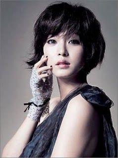 Cute short Korean hairstyle