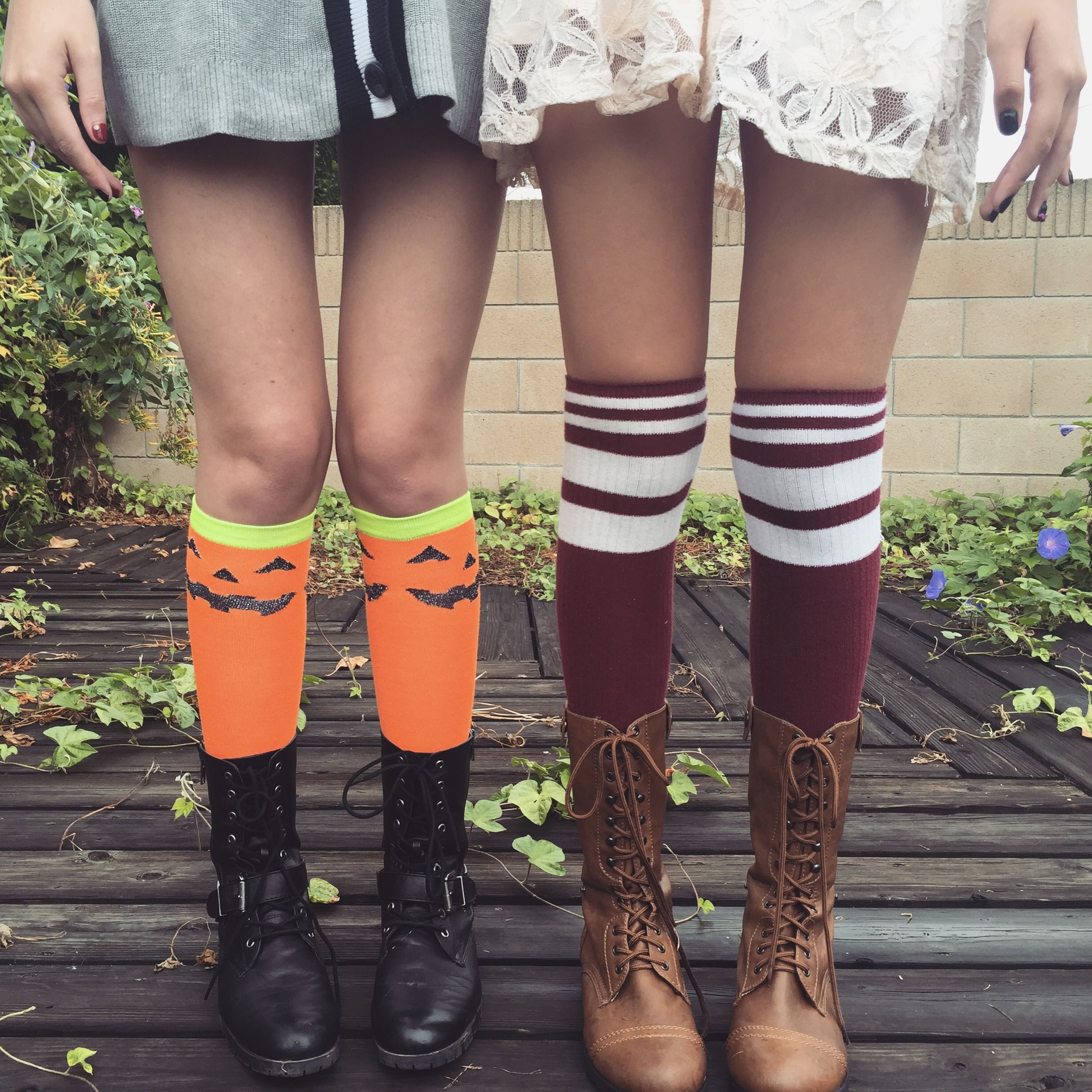 My sister and I are ready for fall @CupcakeKatie98