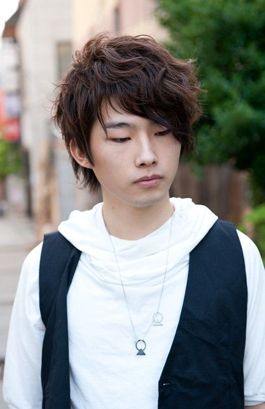 Curly Korean Hair Style for Men in 2019