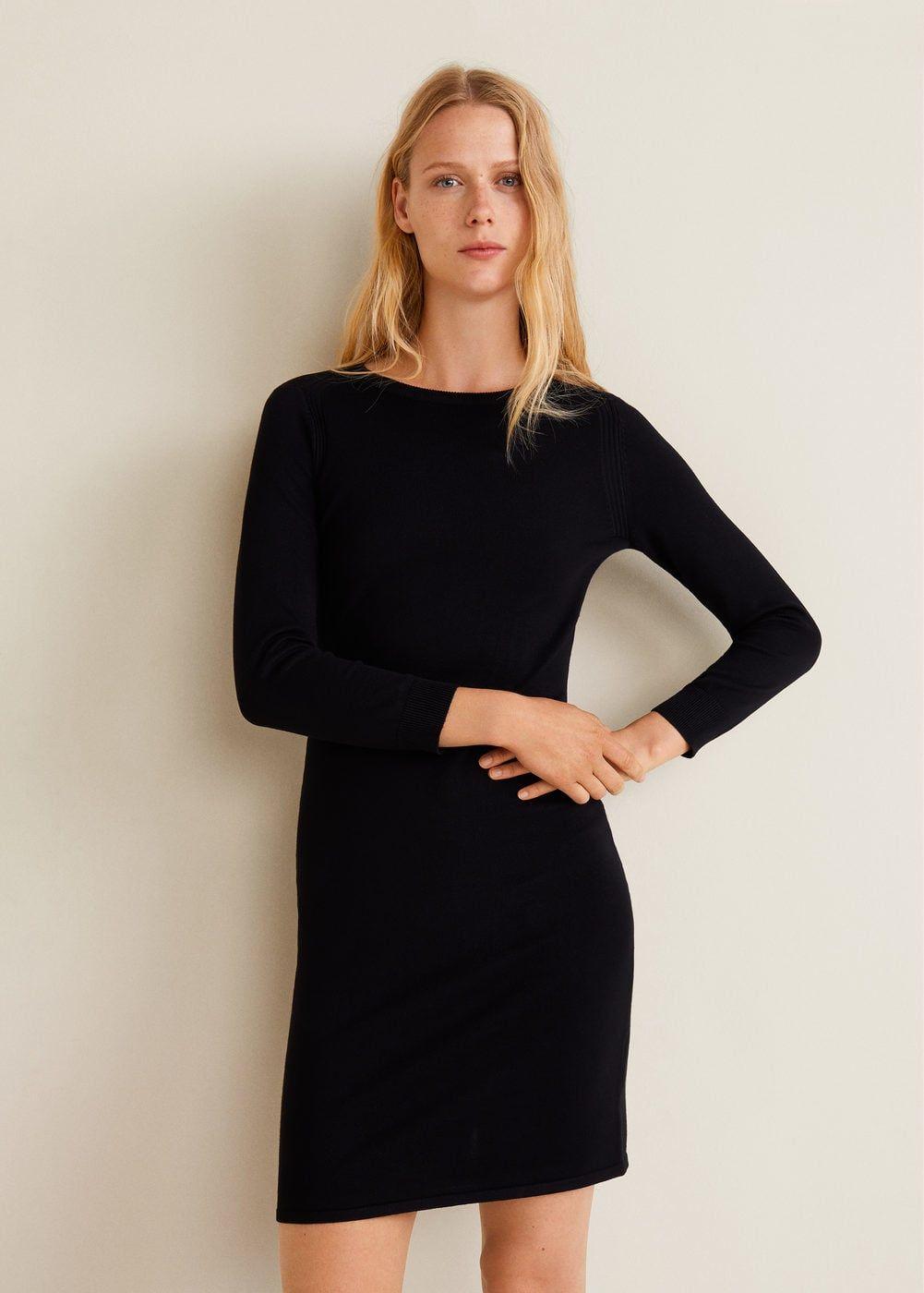 Robe cintrée maille - Femme   Wishlist   Pinterest   Dresses, Knit ... 9683eaa1c125