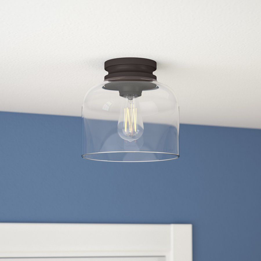 Nolan 1-Light Flush Mount | My Entry | Pinterest | Tabletop ...