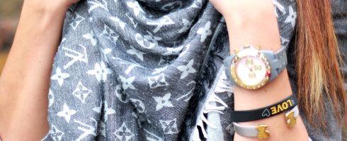 Chusta Szal Louis Vuitton 4576132288 Oficjalne Archiwum Allegro Louis Vuitton T Shirts For Women Women