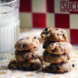 Gluten Free Fluffernutter Chocolate Chip Cookies
