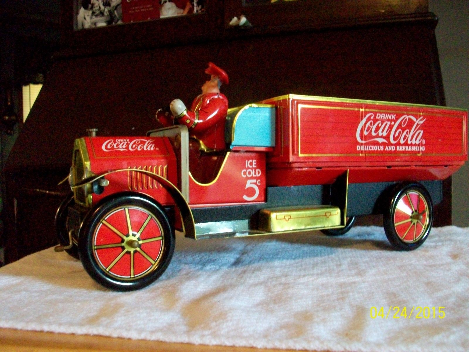 Coca Cola Tin Litho Delivery Truck 1930S Replica - Ebay