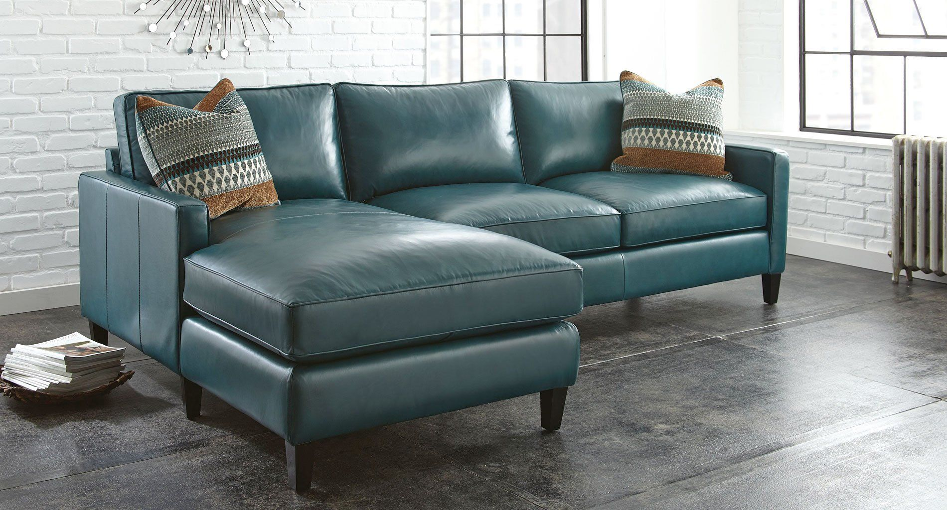 St croix left chaise sectional
