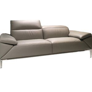 Fantastic Greta Leather Loveseat By Bellini Modern Living Compare Caraccident5 Cool Chair Designs And Ideas Caraccident5Info