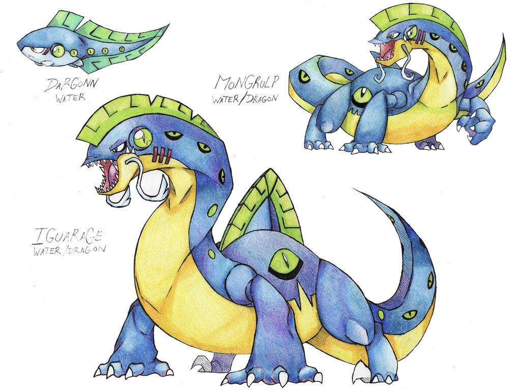 """POWERMONS, YAY remake of this 147-CERESTROS (Cerestas-Atroz) -Dragon -Drake pokemon -""""This snake like dragon wanders the roads and its mostly mistaken with a serpent. It uses the blade like scales ..."""