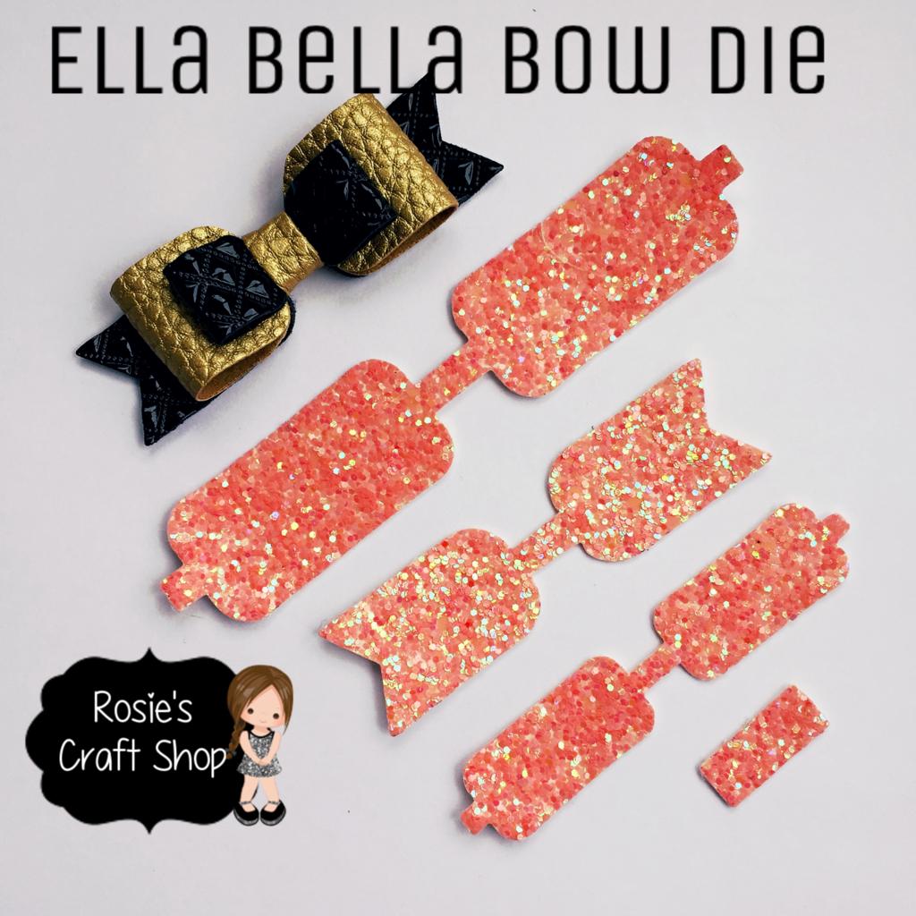 ♡ Ella Bella Bow Die ♡ Compatible with Big Shot ♡