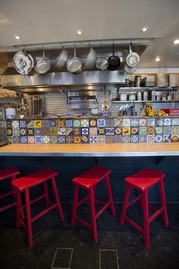 Boom Tnt Taqueria Now Open In Wallingford Mexican Restaurant Design Taqueria Design Mexican Restaurant Decor