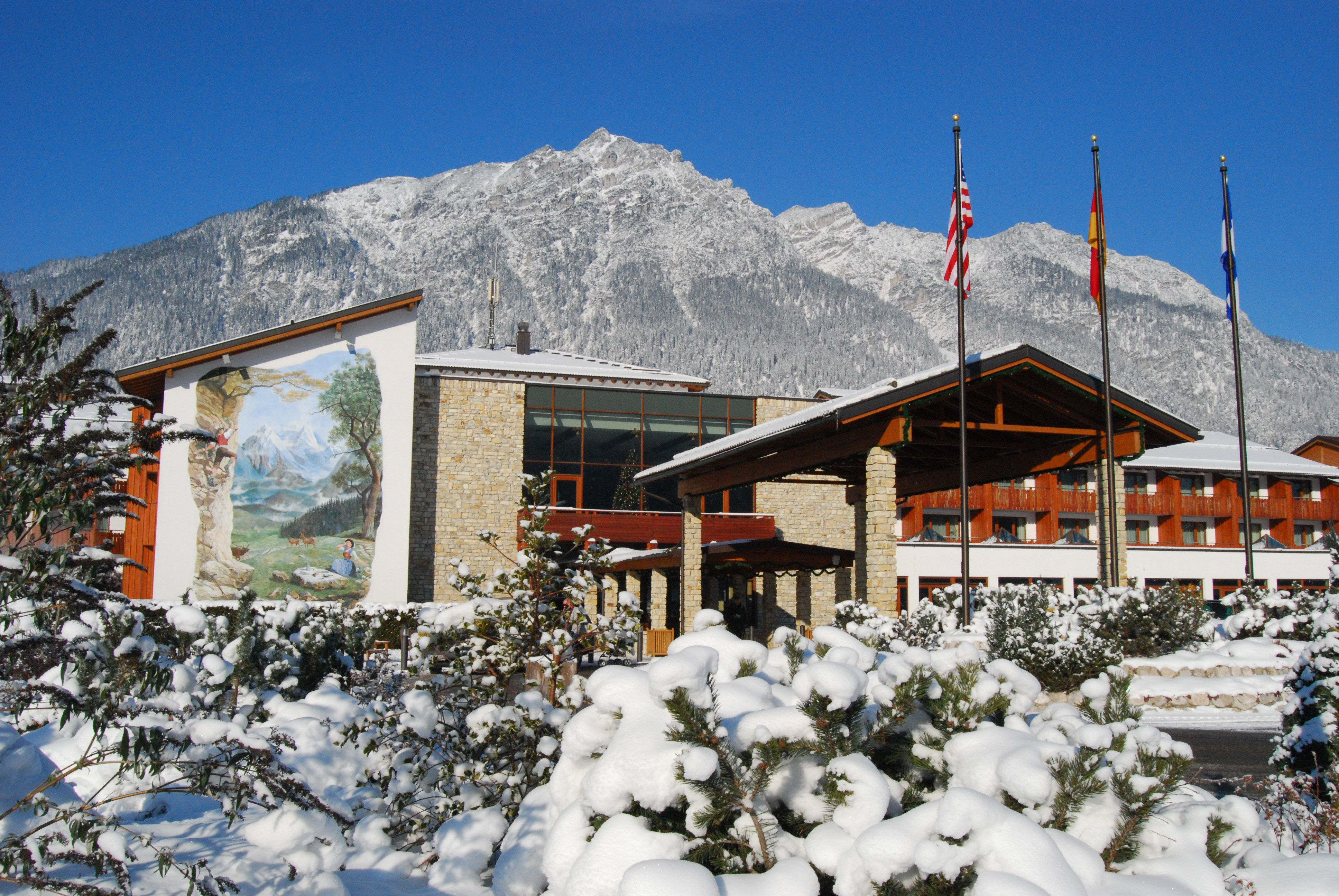 Edelweiss Lodge And Resort In The Winter Edelweissresort With