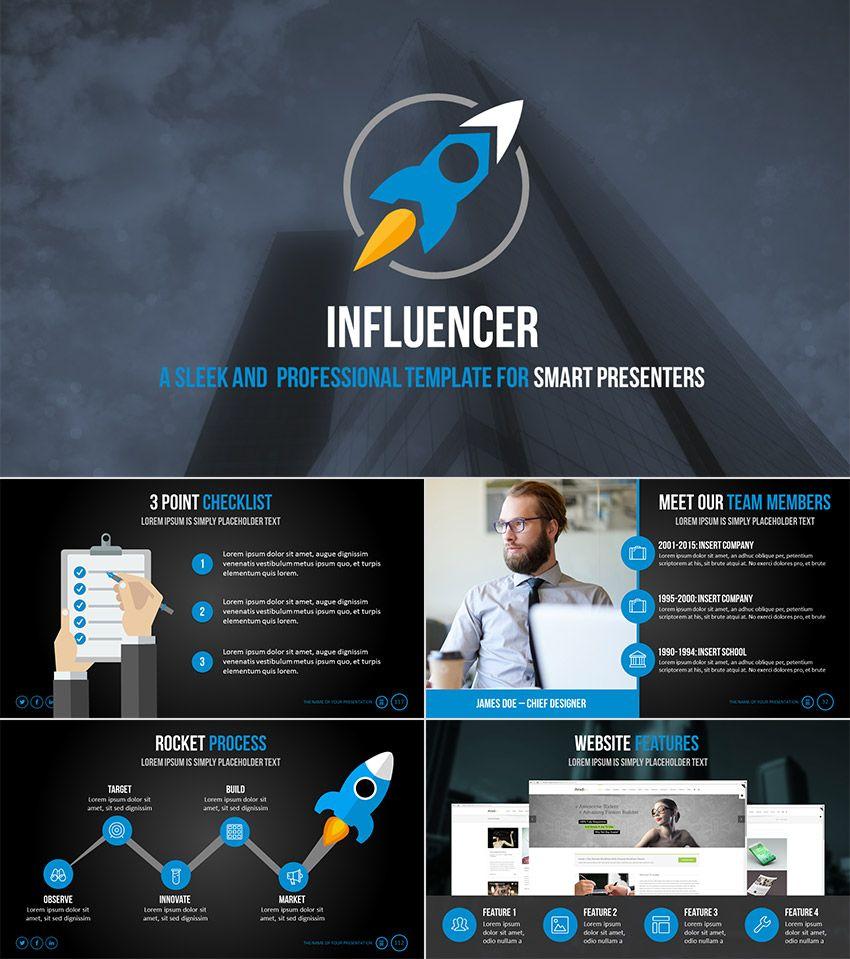 Influencer 2016 Point Presentation Theme Design