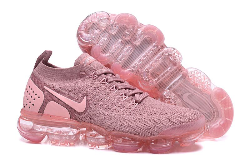 Nike Air VaporMax 2018 2.0 Flyknit Pink Light Purple Women ...
