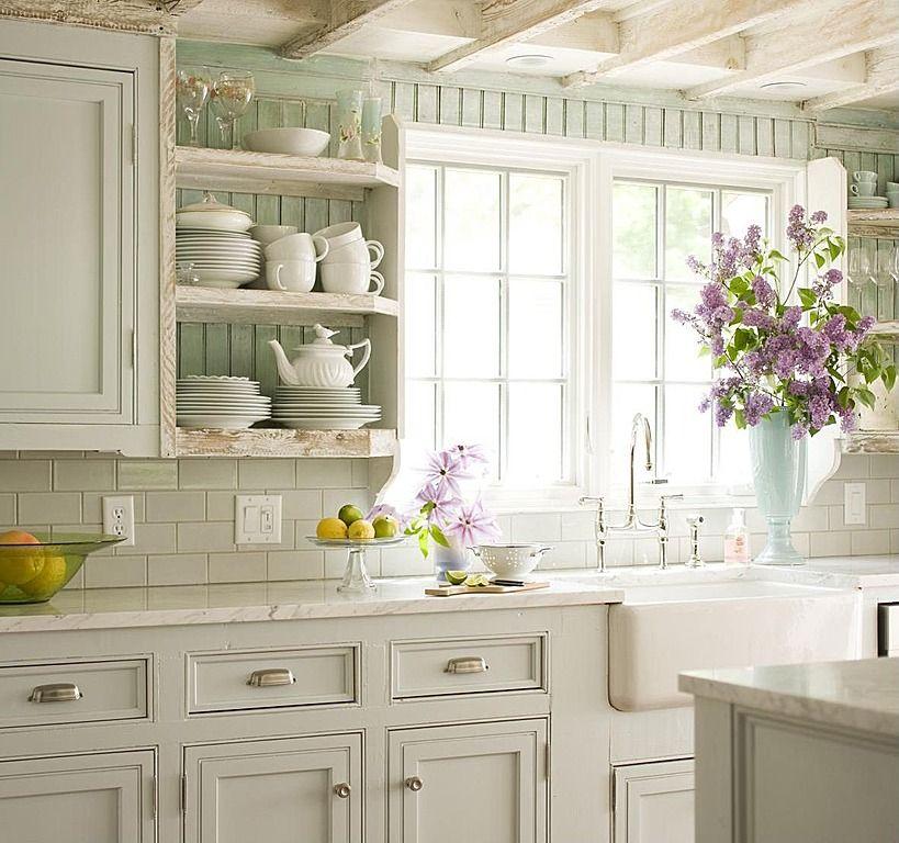 Antique White Kitchen Island