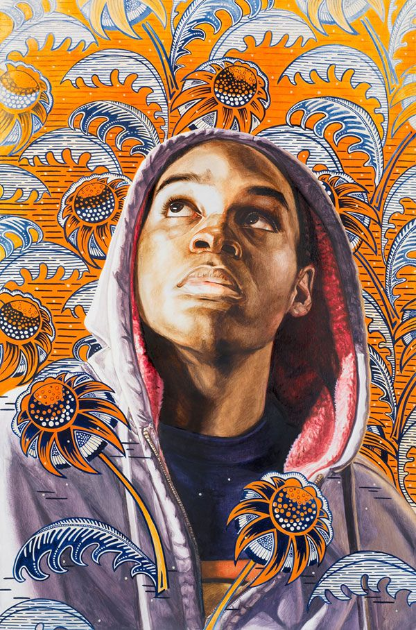 [[MORE]]Kehinde Wiley's portraits of African American men