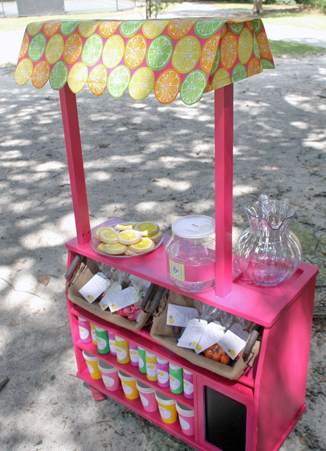 Pink lemonade party: Ellison is 6 | Pink lemonade party ...