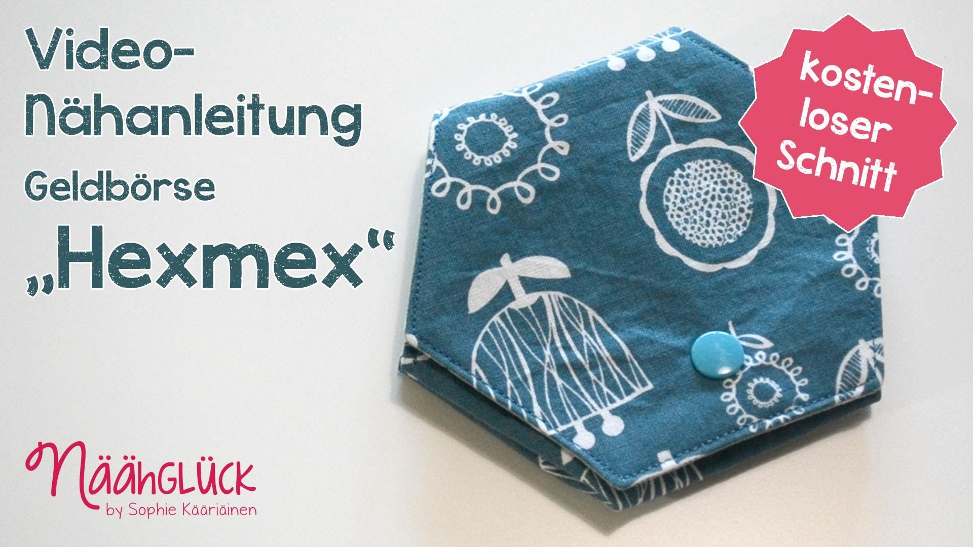 Nähanleitung Hexmex : Kostenloses Schnittmuster | сумки, кошельки и ...